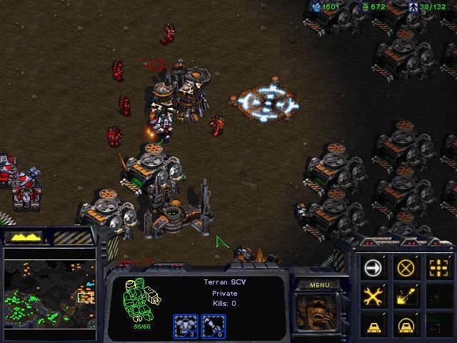 StarCraft 1 (1998/RUS) - скачать бесплатно торрент игры!